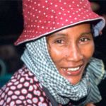 Khmerkvinna. Kratie
