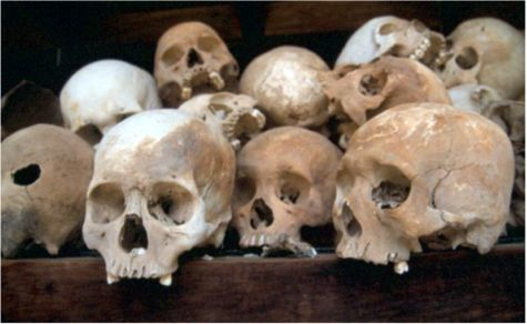 """Killing Fields"". Choeung Ek"