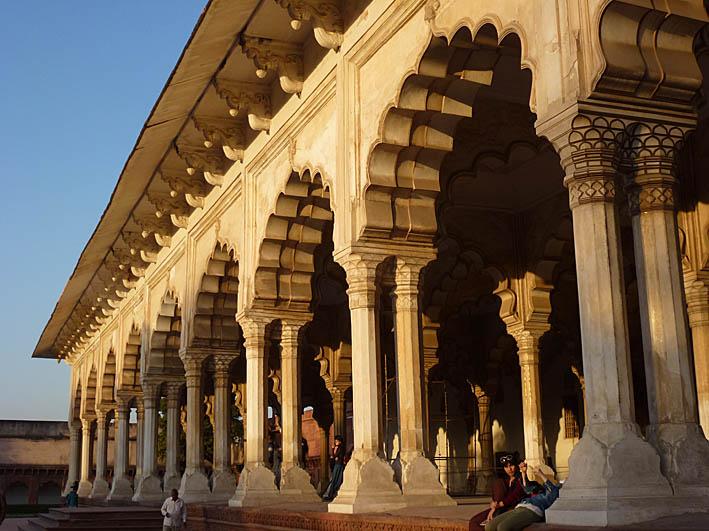 Red Fort. Agra. Indien (U)