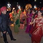 Bröllopsfest. Bharatpur