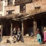 Miljöbild. Bhaktapur