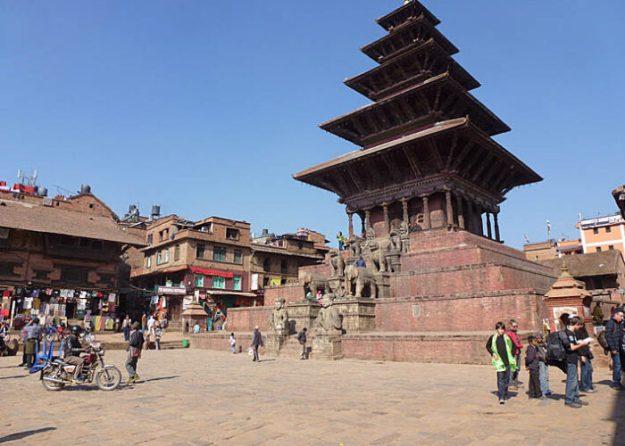 Nayatapola templet. Bhaktapur (U)
