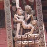 Tempelsniderier. Bhaktapur