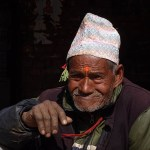 Nepalesisk man. Bhaktapur