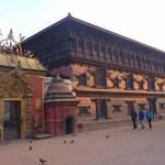 Sun Dhoka och 55 Window Castle. Bhaktapur. Nepal