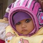 Sminkad flicka. Chitwan