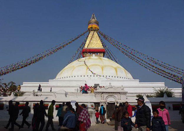 Stupan Boudanath. Kathmandu. Nepal (U)