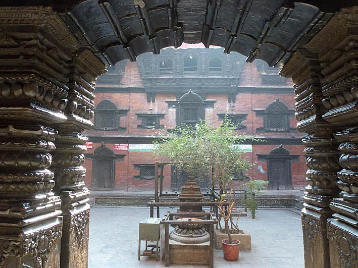 Kumaritemplet. Kathmandu (U)