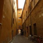 Ferrara. Gatumiljö