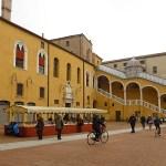 Palazzo Municipal. Ferrara. Italien (U)