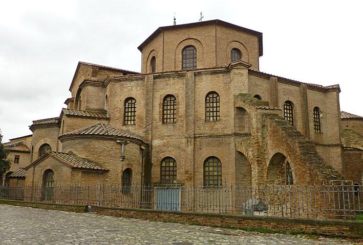 Ravenna. Basilica di San Vitale (U)