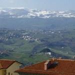 Vy från San Marino
