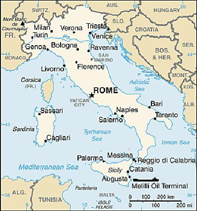 Karta Nord Italien.Italien Landsfakta Folkmangd Folkgrupper Bnp Flagga Mm Stalvik Se