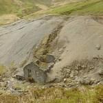 Övergiven gruva. Glenn Mooar Valley
