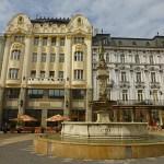 Rolands fontänen. Bratislava