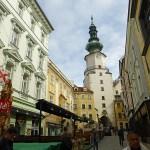 "Gågatan ""Korzo"". Bratislava"