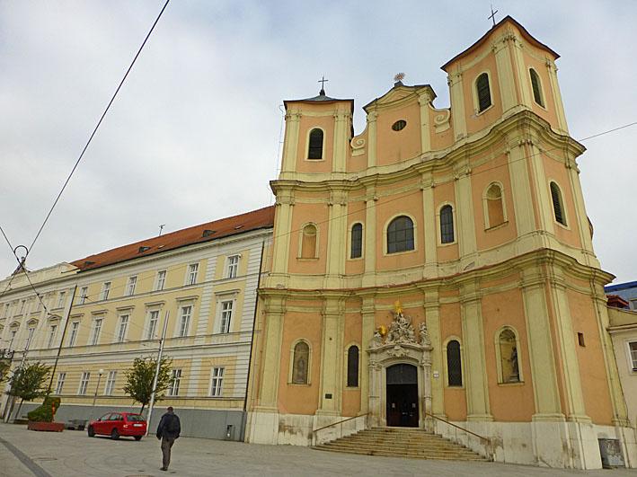 Treenighetens kyrka. Bratislava