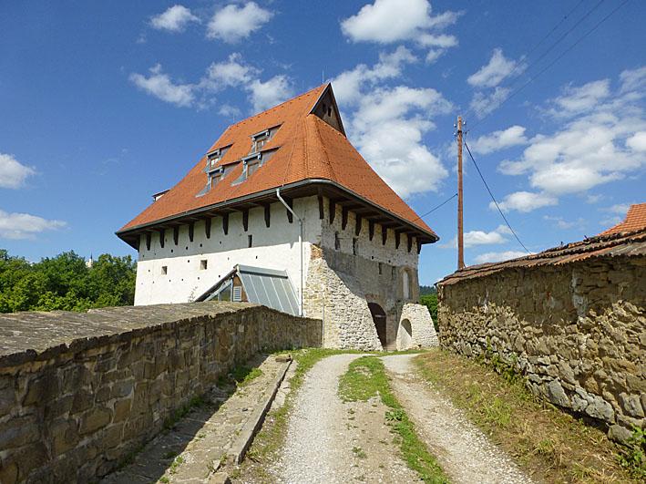 Del av stadsmuren. Levoca (U)