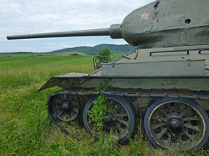 Sovjetisk pansarvagn. Udoli Smrti - Valley of Death