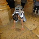 Här dömdes Jesus till döden. Jerusalem