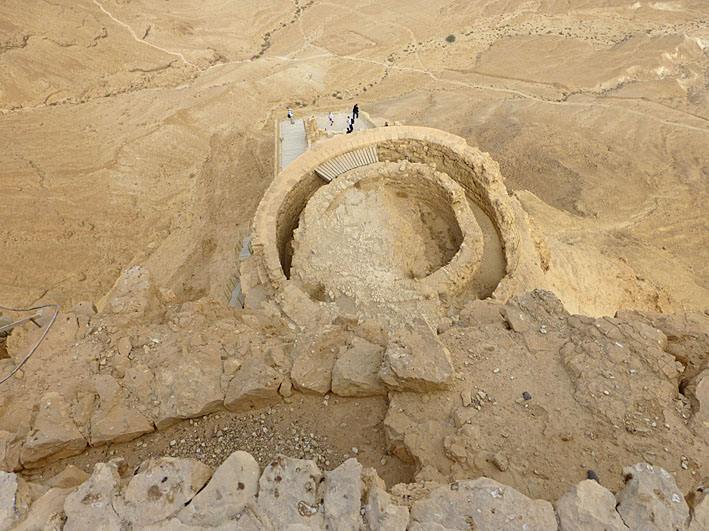 Herodes sommarpalats. Masada (U)