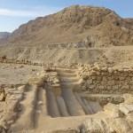 Ruiner från bosättningen. Qumran