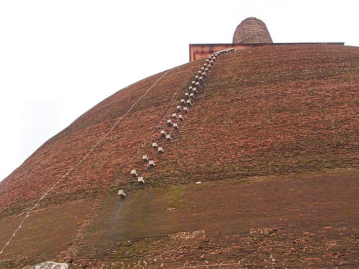 Jetavanarama dagoba. Anuradhapura (U)