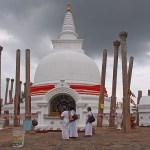 Thuparama dagoba. Anuradhapura (U)