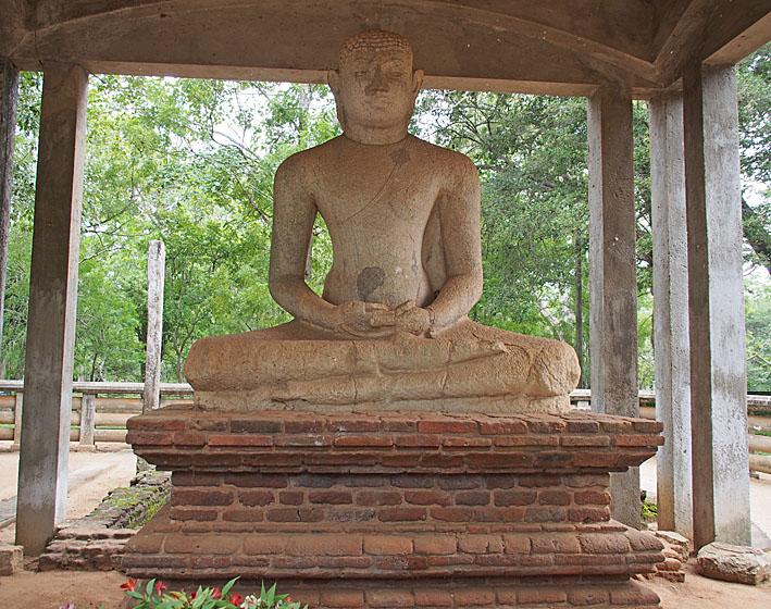 Samadhi Buddha. Anuradhapura (U)