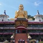 Golden temple. Dambulla