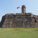 Vy över fortet. Galle (U)