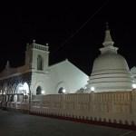 Buddhistiska templet. Galle
