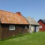 Fiskeläget Gnisvärd. Gotland