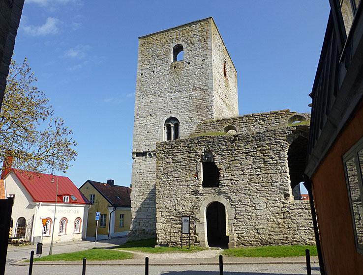 S:t Lars kyrka. Visby (U). Gotland