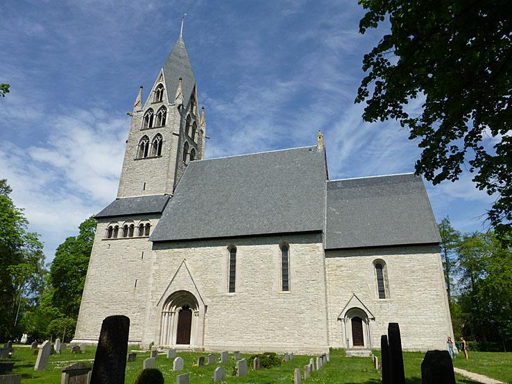 Kyrkan. Dalhem. Gotland