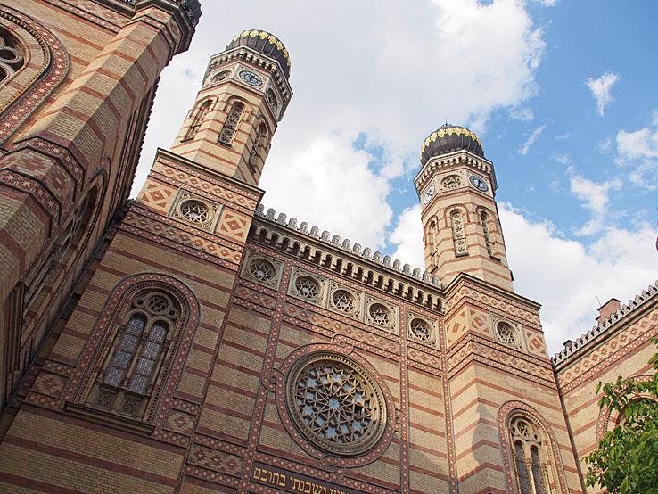 Stora synagogan. Budapest