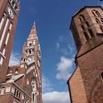 Katedralen och St Demetrius torn. Szeged