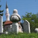 Turkiska gravstenar. Sarajevo