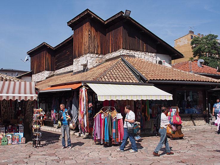 Bascarsija, Gamla staden. Sarajevo