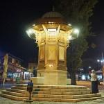 Den gamla fontänen. Sarajevo
