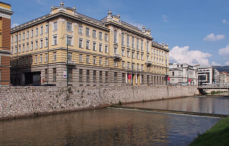 Hus från habsburgska perioden. Sarajevo