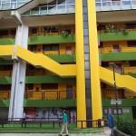 Modern arkitektur. Sarajevo