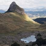 Berget Uvita Greda. Durmitor National Park. Montenegro (U)