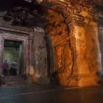 Grottemplet Kailasa. Ellora (U)