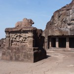 Grottemplet Ramesvara. Ellora (U)