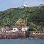 Fästningen Aguada. Goa