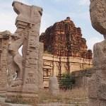Templet Achyutaraya. Hampi (U)
