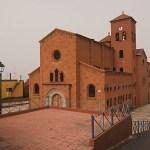 Den överdimensionerade kyrkan. Punta del Hidalgo