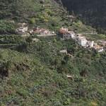 Vy över byn Masca