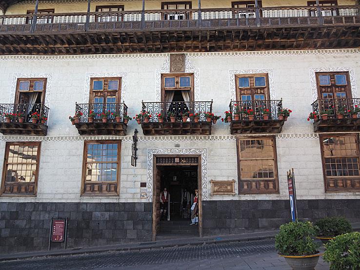 Casa de los Balcoes,. La Orotava